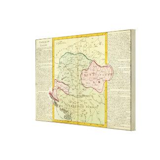 Balkan Peninsula, Hungary, Romania Canvas Print