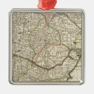 Balkan Peninsula, Hungary, Romania Christmas Ornament
