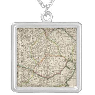 Balkan Peninsula, Hungary, Romania Silver Plated Necklace