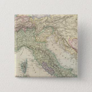 Balkan Peninsula, Italy, Slovenia 15 Cm Square Badge