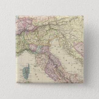 Balkan Peninsula, Italy, Slovenia 2 15 Cm Square Badge
