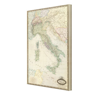 Balkan Peninsula, Italy, Slovenia 2 Canvas Print
