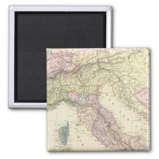 Balkan Peninsula, Italy, Slovenia 2 Magnet