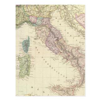 Balkan Peninsula, Italy, Slovenia 2 Postcard
