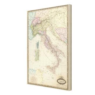 Balkan Peninsula, Italy, Slovenia Canvas Print
