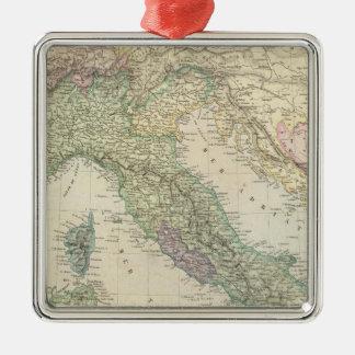 Balkan Peninsula, Italy, Slovenia Christmas Ornament