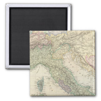 Balkan Peninsula, Italy, Slovenia Magnet
