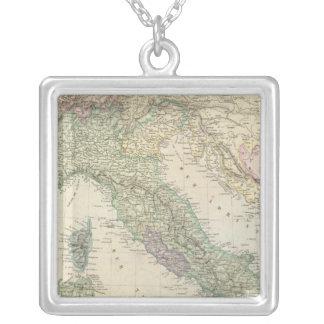 Balkan Peninsula, Italy, Slovenia Silver Plated Necklace