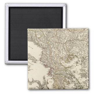 Balkan Peninsula Magnet