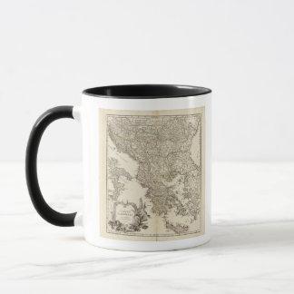 Balkan Peninsula Mug