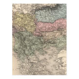 Balkan Peninsula Postcard