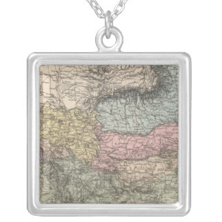 Balkan Peninsula Silver Plated Necklace