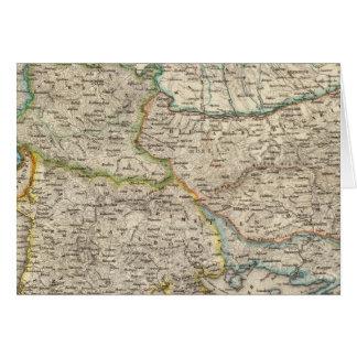 Balkan Peninsula, Turkey 2 Card