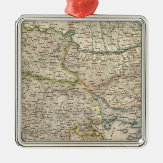Balkan Peninsula, Turkey 2 Christmas Ornament