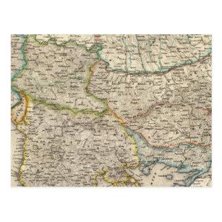 Balkan Peninsula, Turkey 2 Postcard