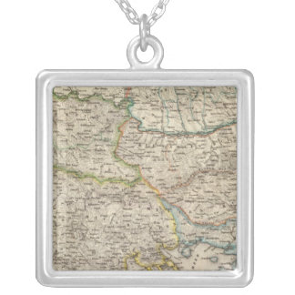 Balkan Peninsula, Turkey 2 Silver Plated Necklace