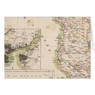Balkan Peninsula, Turkey, Albania Card
