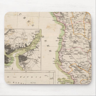 Balkan Peninsula, Turkey, Albania Mouse Mat