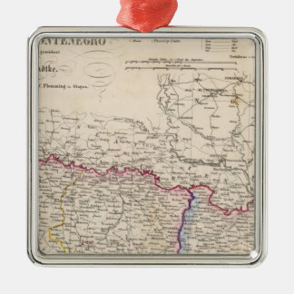 Balkan Peninsula, Turkey, Bosnia Christmas Ornament