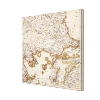 Balkan Peninsula, Turkey, Bulgaria Canvas Print