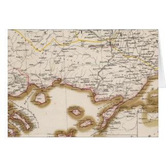 Balkan Peninsula, Turkey, Bulgaria Card