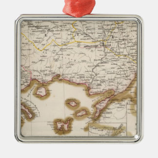 Balkan Peninsula, Turkey, Bulgaria Christmas Ornament