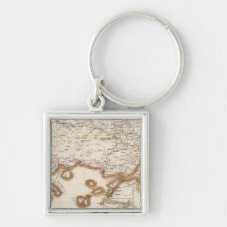 Balkan Peninsula, Turkey, Bulgaria Key Ring