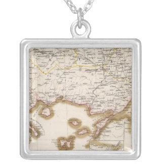 Balkan Peninsula, Turkey, Bulgaria Silver Plated Necklace