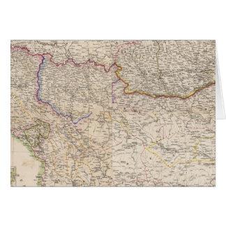 Balkan Peninsula, Turkey Card