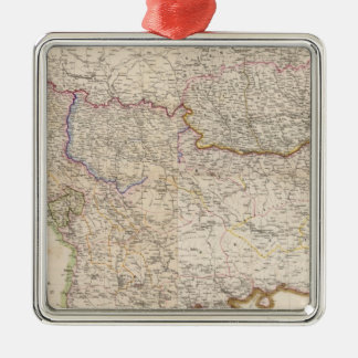 Balkan Peninsula, Turkey Christmas Ornament