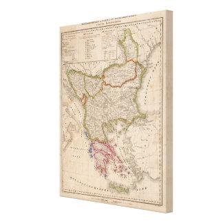 Balkan Peninsula, Turkey, Greece 2 Canvas Print