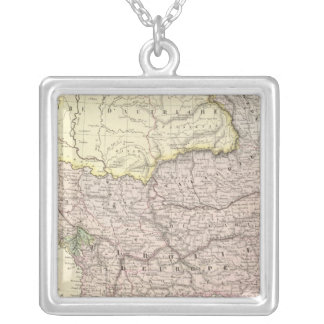 Balkan Peninsula, Turkey, Greece 2 Silver Plated Necklace