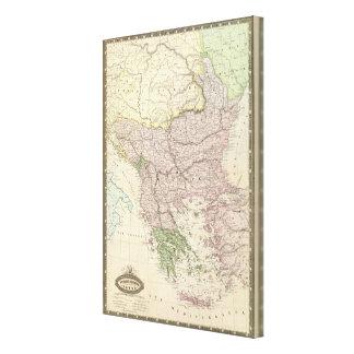 Balkan Peninsula, Turkey, Greece Canvas Print