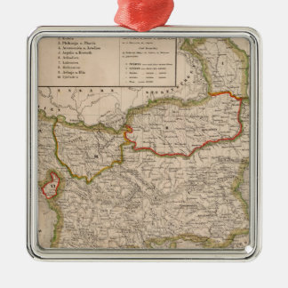 Balkan Peninsula, Turkey, Greece Christmas Ornament