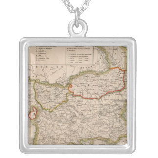 Balkan Peninsula, Turkey, Greece Silver Plated Necklace