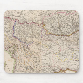 Balkan Peninsula, Turkey Mouse Mat