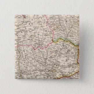 Balkan Peninsula, Turkey, Romania 15 Cm Square Badge