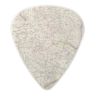 Balkan Peninsula, Turkey, Romania Acetal Guitar Pick
