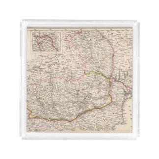 Balkan Peninsula, Turkey, Romania Acrylic Tray