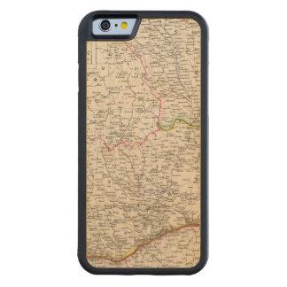 Balkan Peninsula, Turkey, Romania Carved Maple iPhone 6 Bumper Case