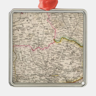 Balkan Peninsula, Turkey, Romania Christmas Ornament