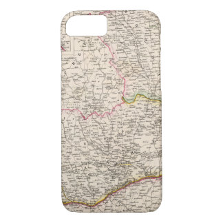 Balkan Peninsula, Turkey, Romania iPhone 8/7 Case