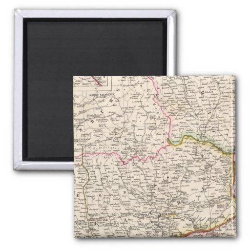 Balkan Peninsula, Turkey, Romania Magnet