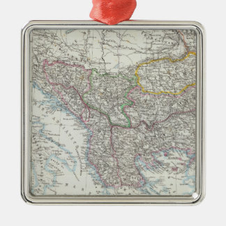 Balkan Peninsula, Turkey, Serbia, Europe Christmas Ornament