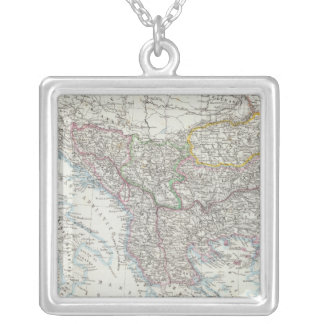Balkan Peninsula, Turkey, Serbia, Europe Silver Plated Necklace
