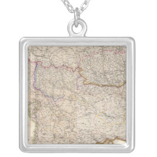 Balkan Peninsula, Turkey Silver Plated Necklace