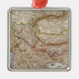 Balkanhalbinsel - Balkan Peninsula Map Christmas Ornament