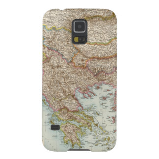 Balkanhalbinsel - Balkan Peninsula Map Galaxy S5 Cases