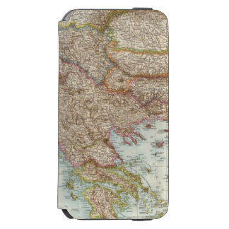 Balkanhalbinsel - Balkan Peninsula Map Incipio Watson™ iPhone 6 Wallet Case