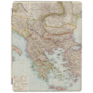 Balkanhalbinsel - Balkan Peninsula Map iPad Cover